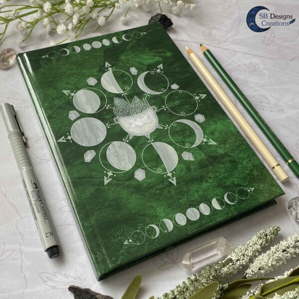 Book of Shadows Moonphases Journal Moon Magick Caudron-4