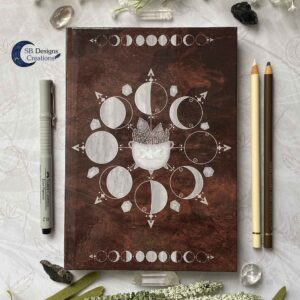 Cauldron Journal Moonphases Notebook A5 Hardcover-2