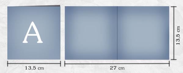 Maataanduiding Kaartontwerp A - SB Designs Creations - Kaart Collectie