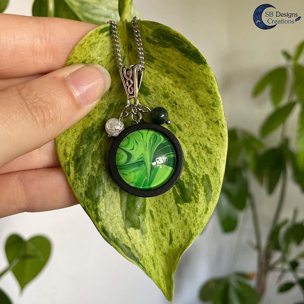 Earth Element Jewelry - Aarde Element Sieraden - Mos Agaat en Iris Kwarts-6