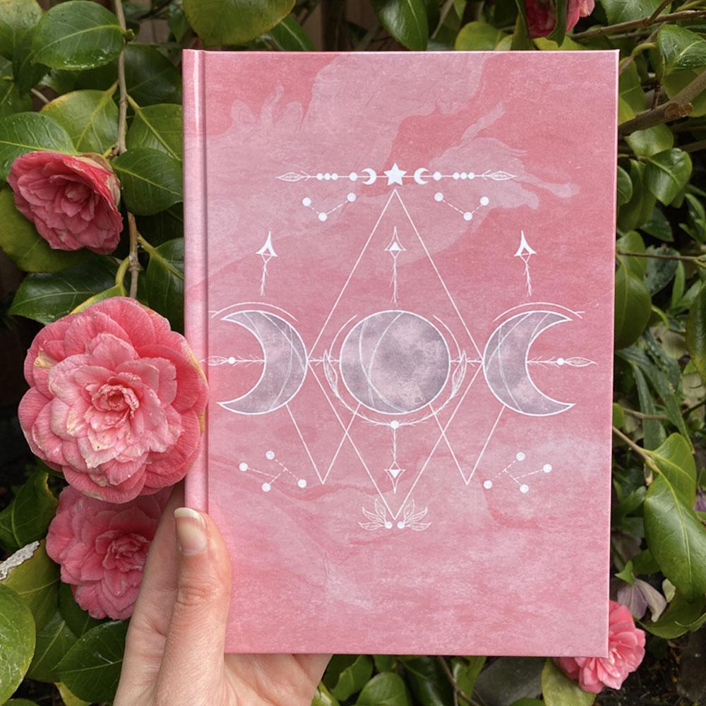 Magisch Dagboek - Spreukenboek-Drievoudige Maan SB Designs Creations