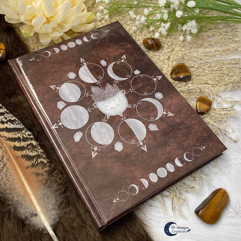 Spreukenboek Book of Spells Hekserij Book of Shadows Wicca Pagan Magische Ervaringen
