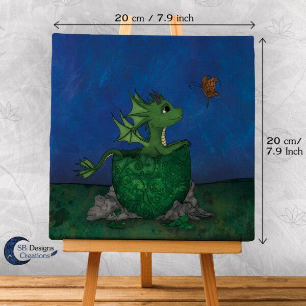Fantasy Babykamer Kinderkamer Draakje uit Ei Fantasy Artist