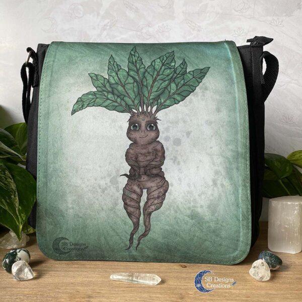 Mandrake Mandragora Fantasy Tas Folklore zwart-1