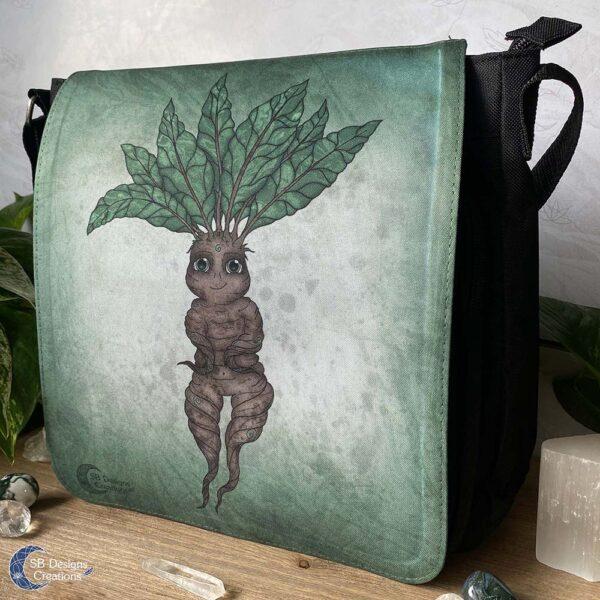 Mandrake Mandragora Fantasy Tas Folklore zwart-2