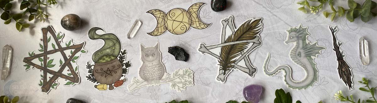 Vinyl Stickers SB Designs Creations
