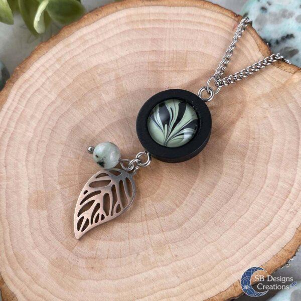 Kiwi Jaspis Sesam Jaspis Magische Sieraden