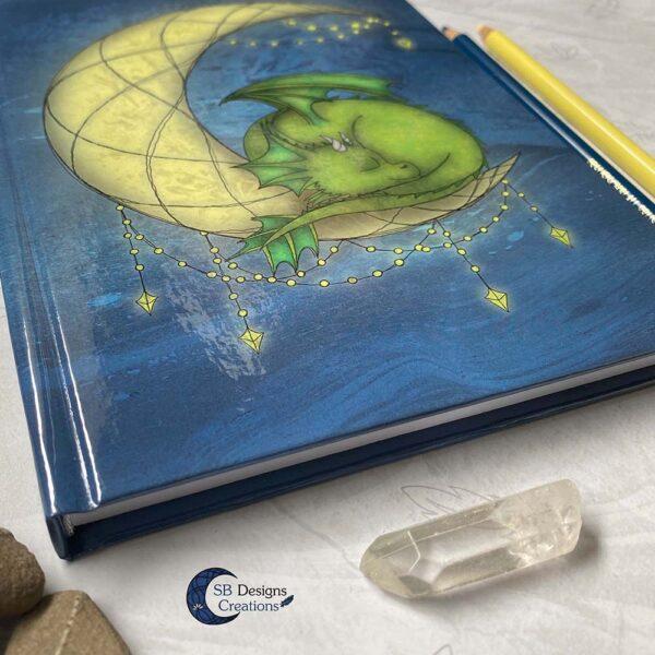 Maandraak Draakje op de Maan Maanmagie Dromendagboek