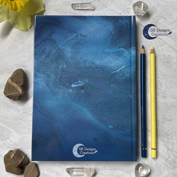 Maandraak Draakje op de Maan Maanmagie Journal BOS Grimoire