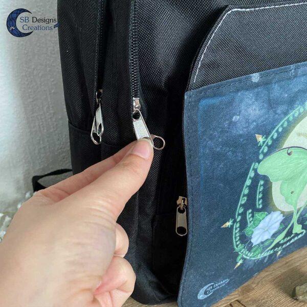 Maanvlinder Mot Schoudertas Lunar moth SB Designs Creations