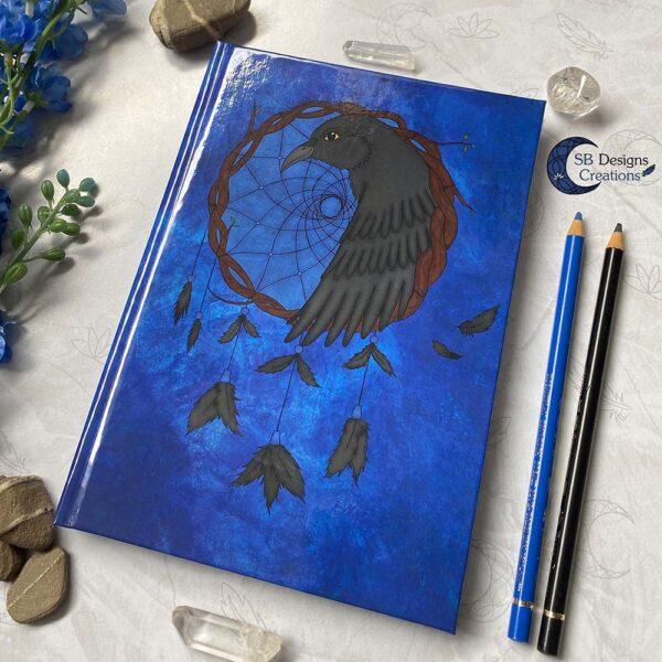 Raven Dromenvanger Krachtdier Spirit Animal A5 Dromen journal