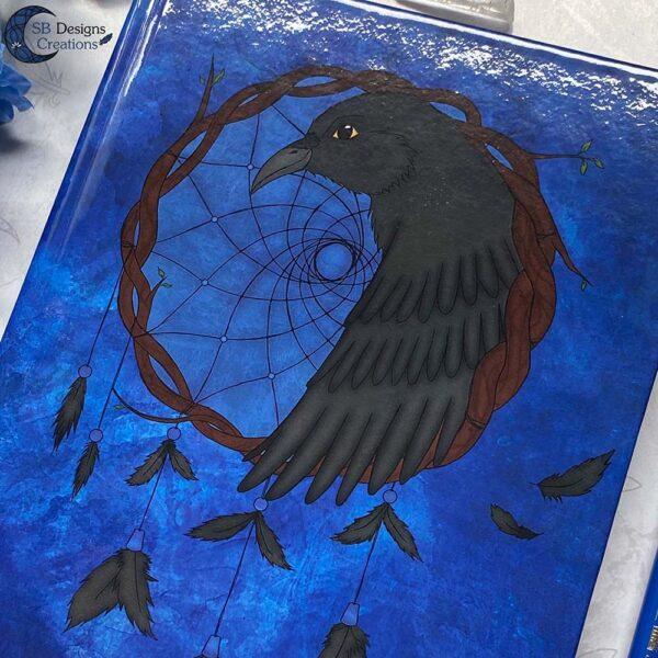 Raven Dromenvanger Krachtdier Spirit Animal A5 Journal