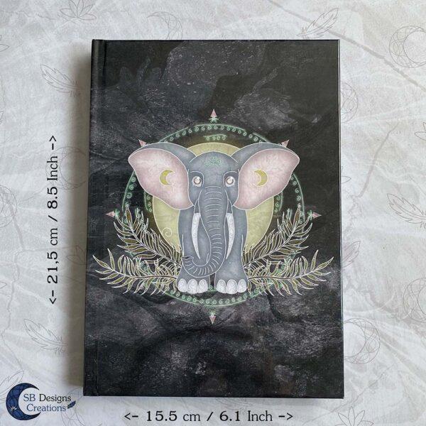 Spirit of the Elephant Olifant notitieboek A5 Hardcover Fantasy Art