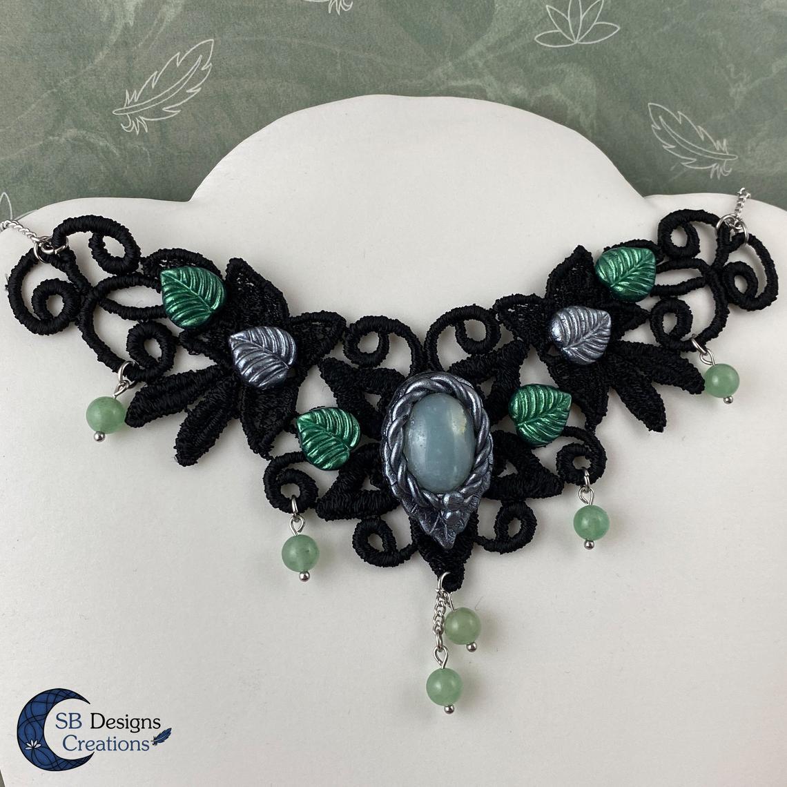Elven-Choker-Green-Witch-Groene-Heks-sieraden-2