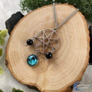 Fairy Star Elven Star Heptagram Septogram Symbol Ketting