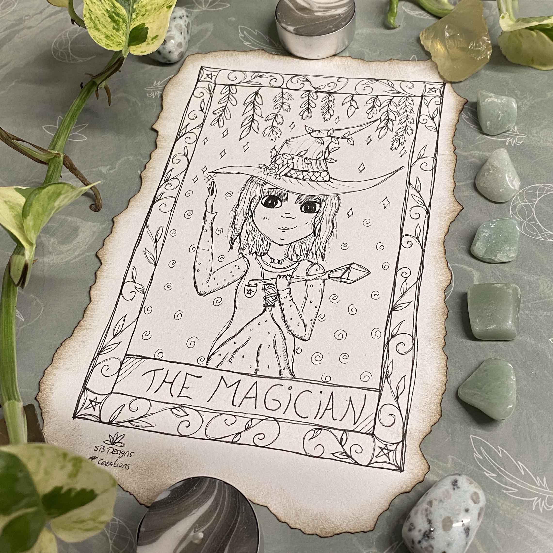 Dag-6-Tarot-the-Magician