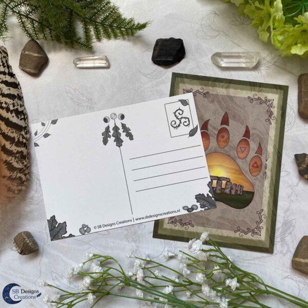 Druid Magick- Ansichtkaarten illustratieve set
