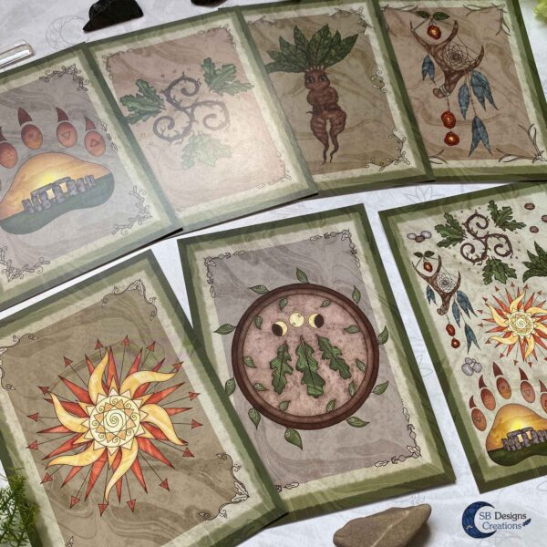 Druid Magick- Druids Pagan Art SB Designs Creations