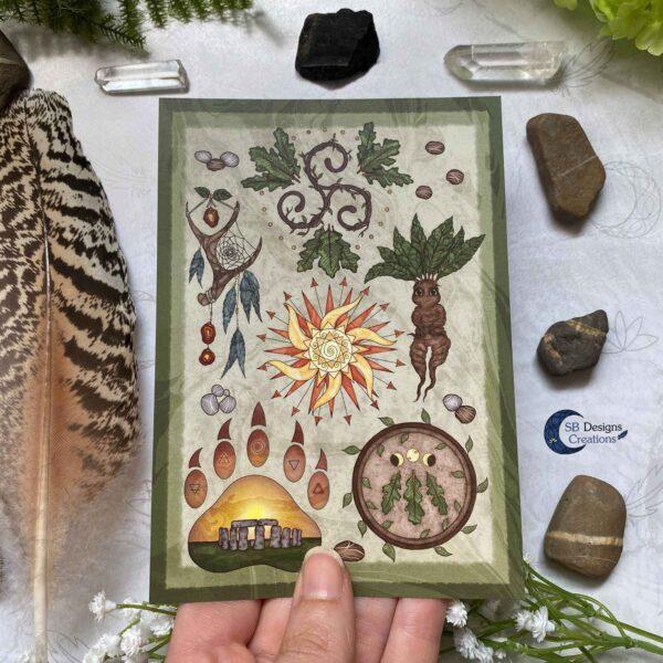 Druid Magick- Natuur Religie Magie Set
