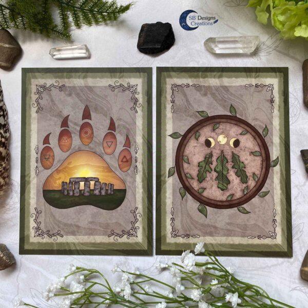 Druid Magick- Stonehenge en Awen Symbool