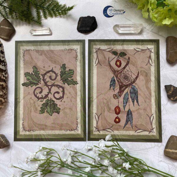 Druid Magick- Triskele en Natuur Dromenvanger