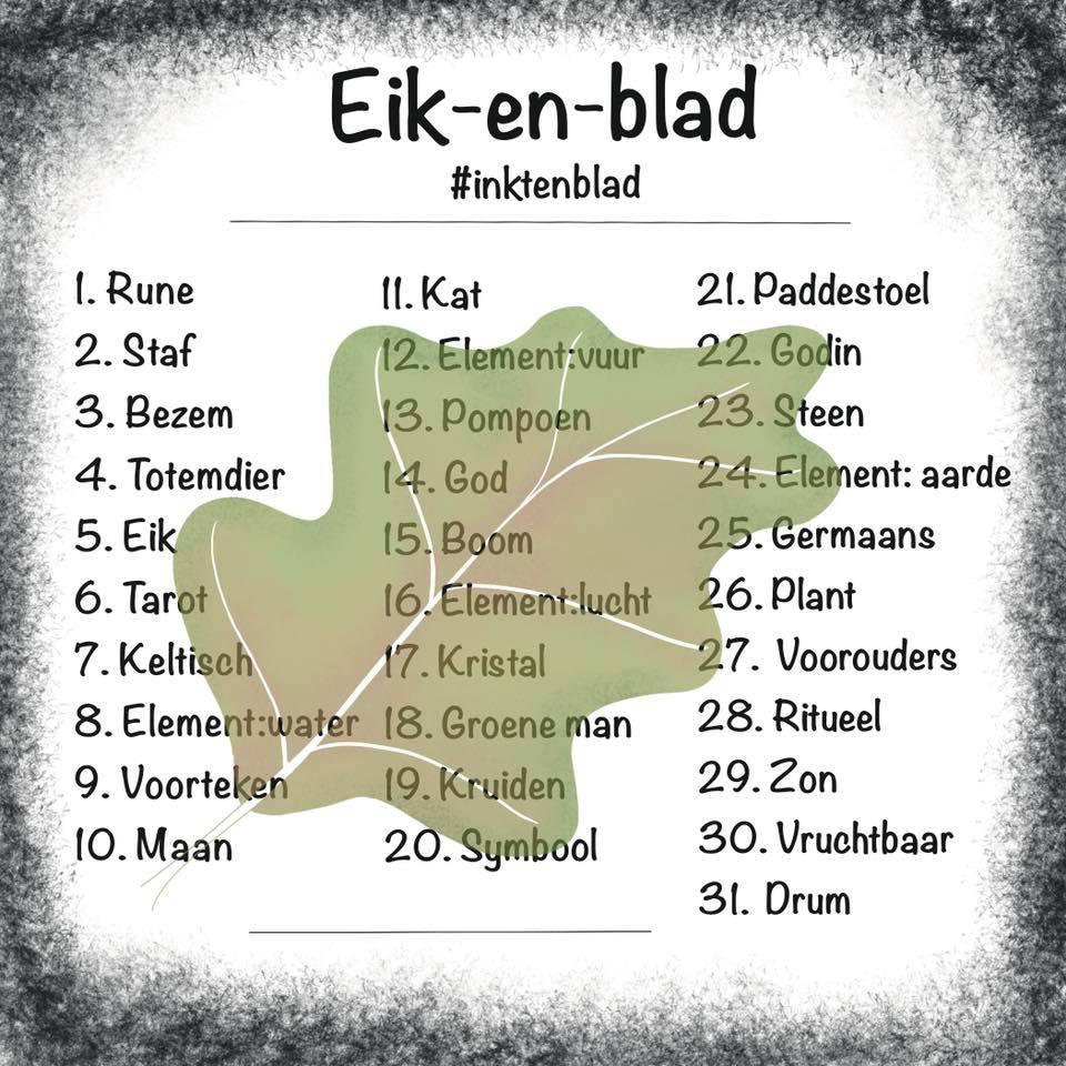 Eik-en-Blad-InktenBlad-Inktober-Challenge