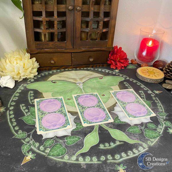 Tarot Kaarten Kleed Spiritualiteit Magie Hekserij Divinatie