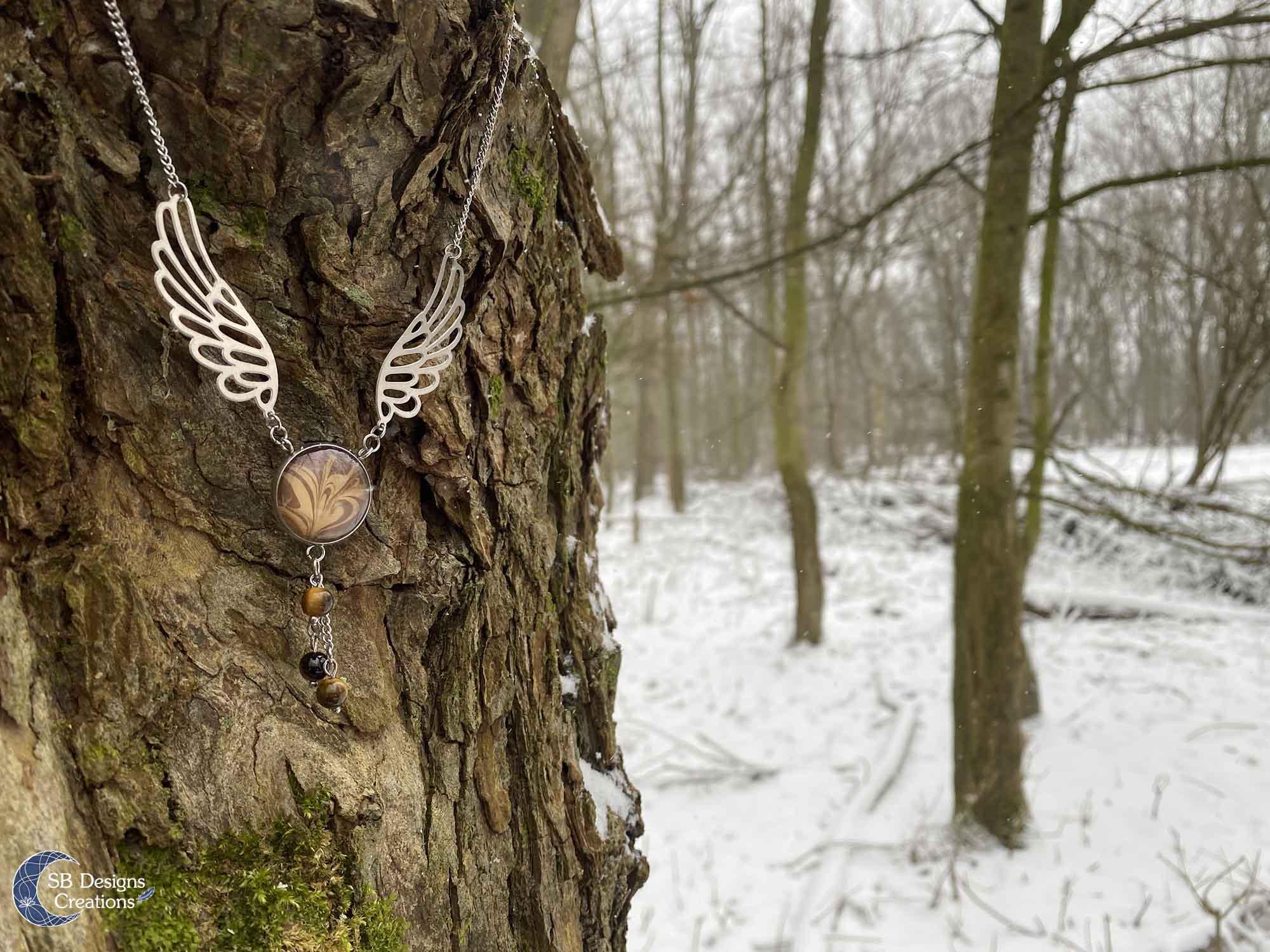 Vleugel-sieraden-handgemaakt-tijgeroog