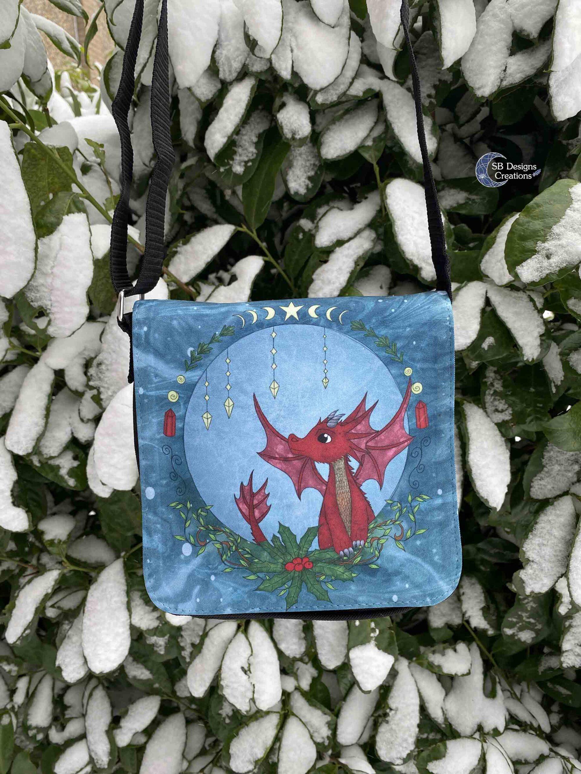 Yule-Dragon-Winter-Dragon-Shoulder-Bag-scaled